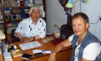 Презид шаман Тывы Кенин-Л М.Б обратился за помощью от лжешаманов